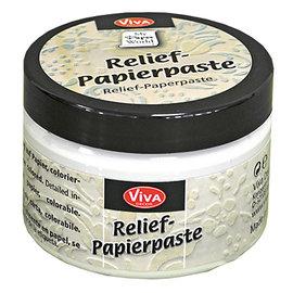 VIVA DEKOR (MY PAPERWORLD) Relief paper paste, old white, 150ml
