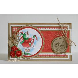 Marianne Design Gennemsigtige frimærker, julemotiv