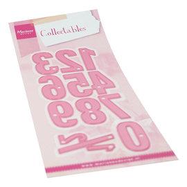 Stanzschablonen , Zahlen XL,  1 Zahl ist ca. 4 x 1,5 cm!