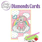 Yvonne Creations Dotty Designs Diamonds Cards - Pink Baby Elephant