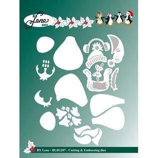 Leane Creatief - Lea'bilities und By Lene Stanzschablonen , Pinguinen