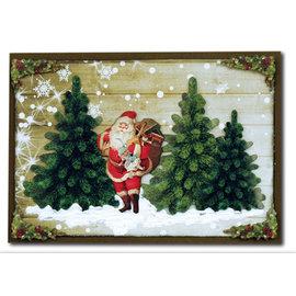 Alberi di Natale fustellati, realizzati in cartone 250g, formato A4