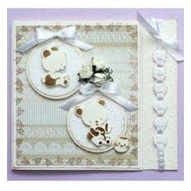 Stanzschablonen , Joy Crafts, 6002-0410, Honigbärchen (Allerletztes verfügbar!)