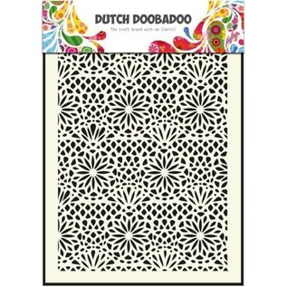 Dutch DooBaDoo Dutch Doodaboo Dutch, Mask Art, fleur au pochoir A5, 470.715.005,