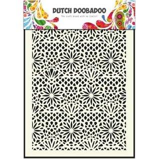Dutch DooBaDoo Dutch Doodaboo Dutch, Mask Art, stencil Blume  A5, 470.715.005,