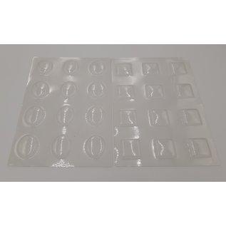 Burbujas, ventanas transparentes, a elegir: ovalada o cuadrada, 12 ventanas