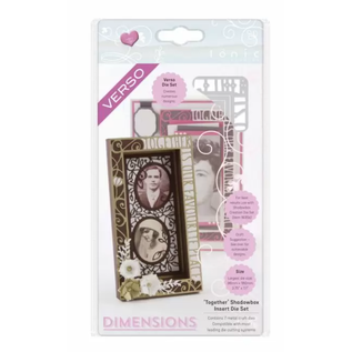 Tonic Studio´s Cutting dies, Shadowbox, Dimensions, 1636E