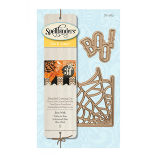 Spellbinders und Rayher Snijmallen / Snijsjablonen, Spellbinders Boo Web, (S2-263)