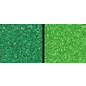 Leane Creatief - Lea'bilities und By Lene glitter foam, 2 x 2, licht en donkergroen