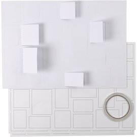 BASTELSETS / CRAFT KITS Advent calendar, with 24 windows, blank, to decorate!