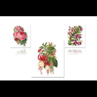 """Bilder, 3D Bilder und ausgestanzte Teile usw... 3D die cut sheet, Gallery """"Roses / Fuchsias"""""""
