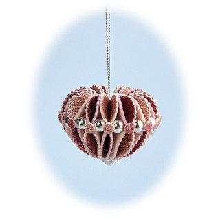 Leane Creatief - Lea'bilities und By Lene Stanzschablonen, 3D Deko Weihnachtskugel gestalten