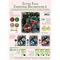 Leane Creatief - Lea'bilities und By Lene Weihnachtskugel, Glitter Foam Dekoration, Auswahl aus Set 1, 2, 3 oder 4