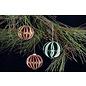 Leane Creatief - Lea'bilities und By Lene Plantillas de corte, diseño de bolas de Navidad decorativas 3D