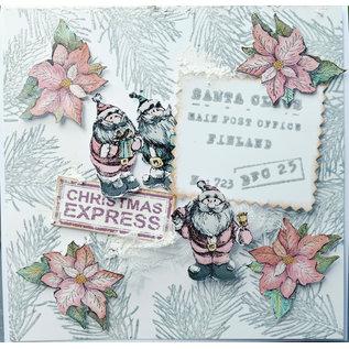LaBlanche Timbro, Babbo Natale con regalo o Babbo Natale con abete