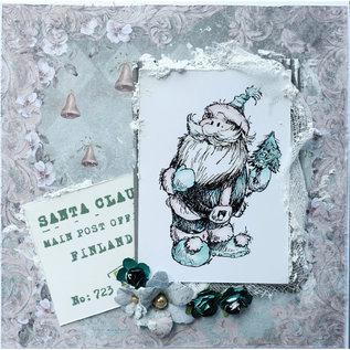 LaBlanche Stempel, Weihnachtsmann mit Geschenk oder Weihnachtsmann mit Tannenbaum
