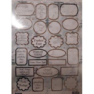 Embellishments / Verzierungen Die vellen met labels