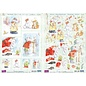 Reddy 3D die cut set, Humphrey`s Corner, Christmas