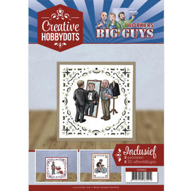 Yvonne Creations A4 SET Big Guys with 8 motifs