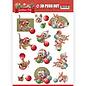 AMY DESIGN A4 Bogen, 3D Puschout, Christmas Tiere