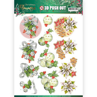 AMY DESIGN A4-vel, 3D-pushout, Kerstmis