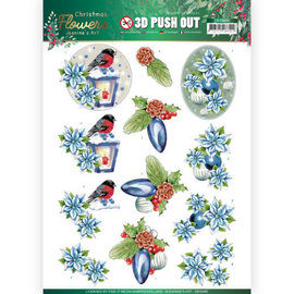 AMY DESIGN A4-vel, 3D-pushout, Kerstmis