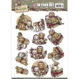 AMY DESIGN A4 Bogen, 3D Puschout, Weihnachten
