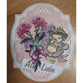 Penny Black Transparent stamp, angel
