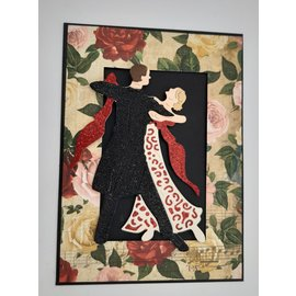 BO BUNNY Designer paper, 30.5 x 30.5 cm, Bo Bunny Juliet