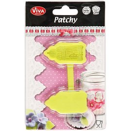 Silicone motif, Viva Decor, Patchy, birds cage with tailor,