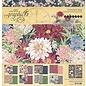 GRAPHIC 45 Grafikk 45, Blossom Collection, designer papirblokk 30,5 x 30,5 cm + klistremerksett!