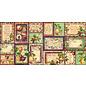 "GRAPHIC 45 Graphic 45, ""Fruit & Flora"" Ephemera - Stanzteile & Journaling Cards"