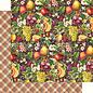 "GRAPHIC 45 Graphic 45, ""Fruit & Flora"" Collectie, designer papieren blok 30,5 x 30,5 cm + stickerset!"