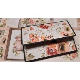 Designer Papier Scrapbooking: 30,5 x 30,5 cm Papier Rilievo di design molto bello, 12 fogli fronte-retro, 30,5 x 30,5 cm