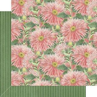 GRAPHIC 45 Grafik 45, Blossom Collection, designer papirblok 30,5 x 30,5 cm + klistermærkesæt!