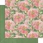 GRAPHIC 45 Graphic 45, Blossom Collection, designer papieren blok 30,5 x 30,5 cm + stickerset!