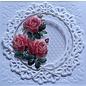 3D A4-vel voorgesneden: rozen