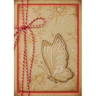 Leane Creatief - Lea'bilities und By Lene Clear stempels, Leane Creatief, vlinder