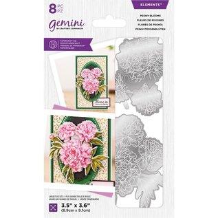 Ponsen sjabloon + bijpassende afbeeldingen voor het ontwerpen van 3D-bloemen