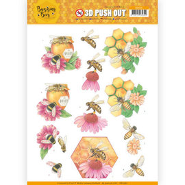 Joy!Crafts / Jeanine´s Art, Hobby Solutions Dies /  Pushout 3D, api ronzanti, api da miele