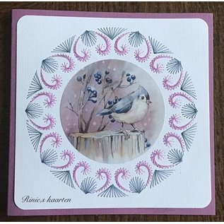 Yvonne Creations A4 Stanzbogen, Lovely Birds
