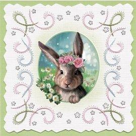 Bilder, 3D Bilder und ausgestanzte Teile usw... Feuille de découpe 3D, avec 3 motifs mignons, Pâques, printemps!