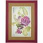 CREATIVE EXPRESSIONS und COUTURE CREATIONS Transparante stempel, bloemsilhouet