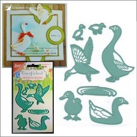 Joy!Crafts / Jeanine´s Art, Hobby Solutions Dies /  cutting and embossing templates: Duck and goose