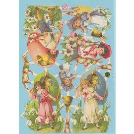 Immagini di Pasqua, immagini di scarto. Per il design su carte, album, collage, uova, decorazioni, decoupage e molto altro!