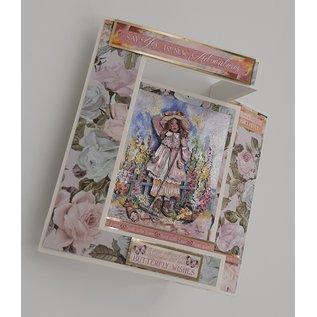 Prima Marketing und Petaloo Designerpapier, Poetic Rose, 30,5 x 30,5 cm (12 x12 Inch)