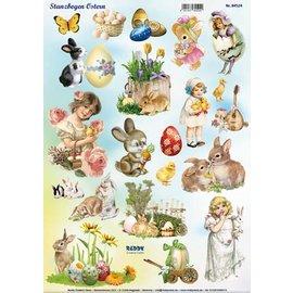 Reddy Die cut sheet Easter 1