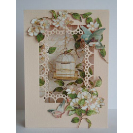 Marianne Design Cutting and embossing template: Passe-partout