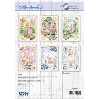 Moreheads, complete handwerkset voor het ontwerpen van 6 kaarten!