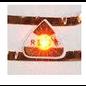 BASTELSETS / CRAFT KITS Håndværkssæt: 3 mini LED-klistermærker + 60 cm kobberbånd